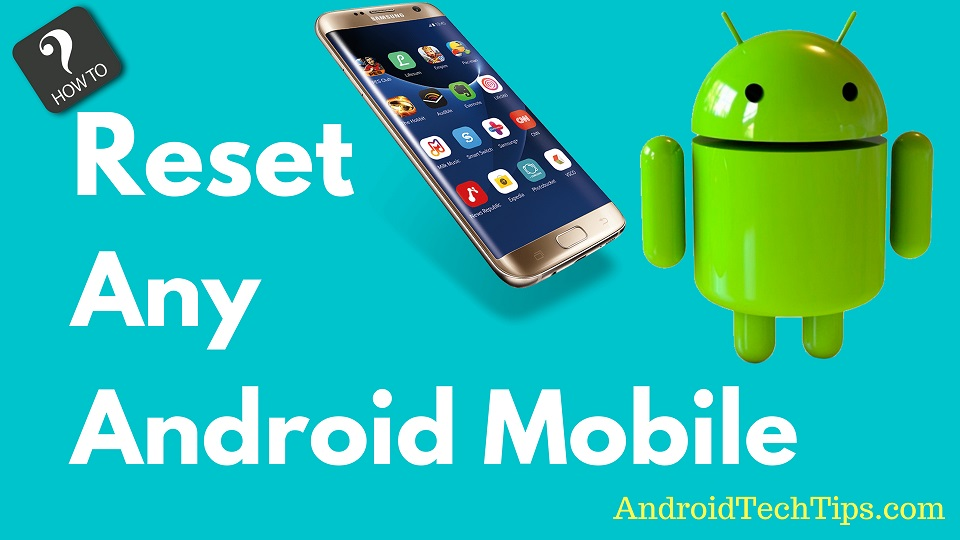 Android Mobile Factory Reset